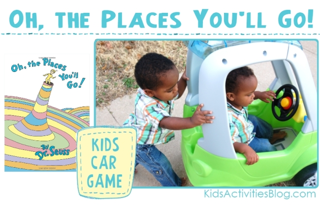 Dr Suess inspired game for toddlers.