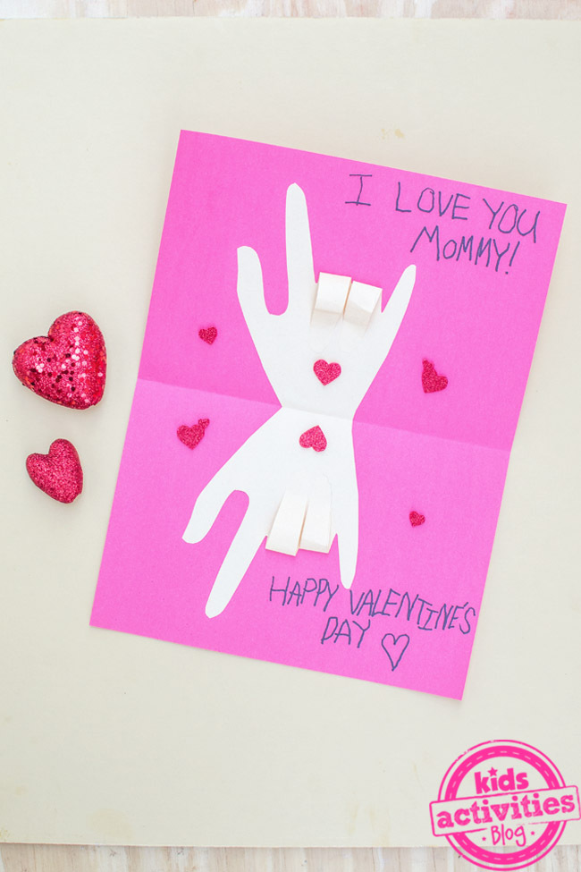 show love homemade valentines cards