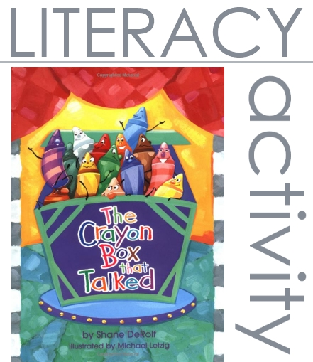 Literacy activity for kids, based on a book!!