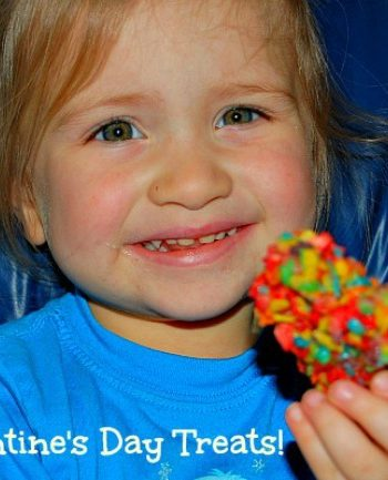 valentine treats are super yummy with fruity pebbles