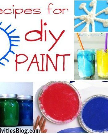 2 dozen ways to make paint for kids!