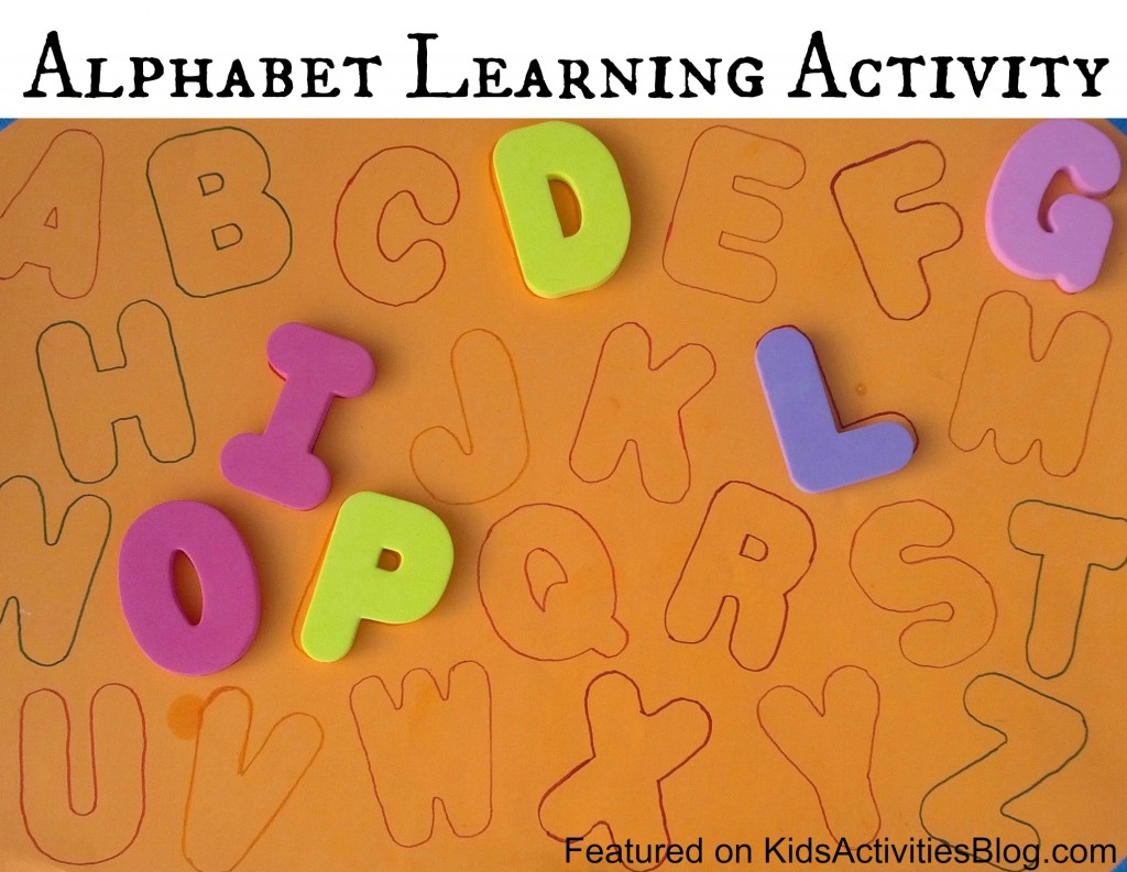 Alphabet Learning Kids Activity