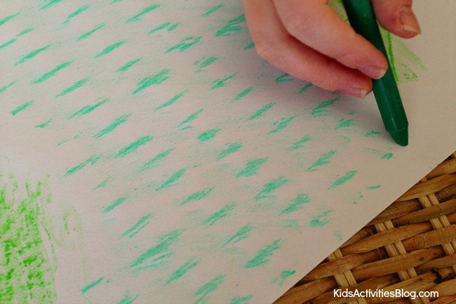 Crayon Art Ideas for Kids: Cute Wax Rubbing Projects