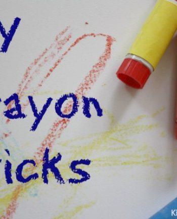 DIY Crayons {Crayon Activity for Parents that Kids Love!}