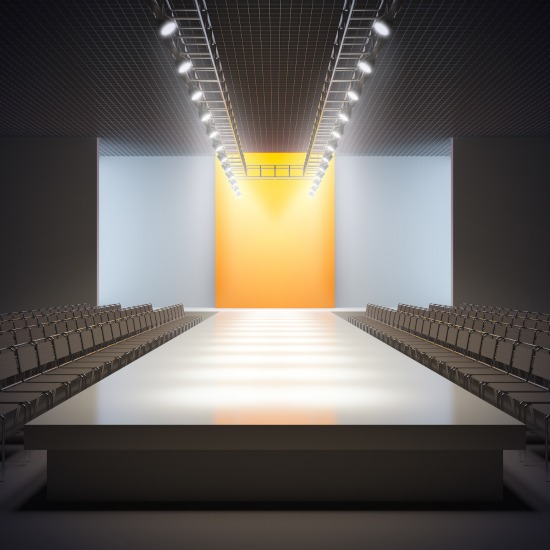 Accessible luxury 2013 benefiting scottish rite hospital - Fashion show stage design architecture plans ...