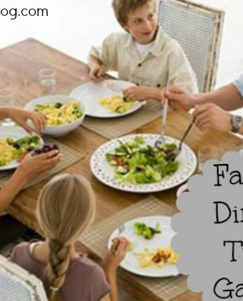 Fun dinner games for the family
