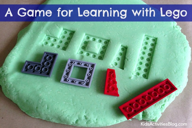 LEGO Game for Kids: Play Dough LEGO Puzzle
