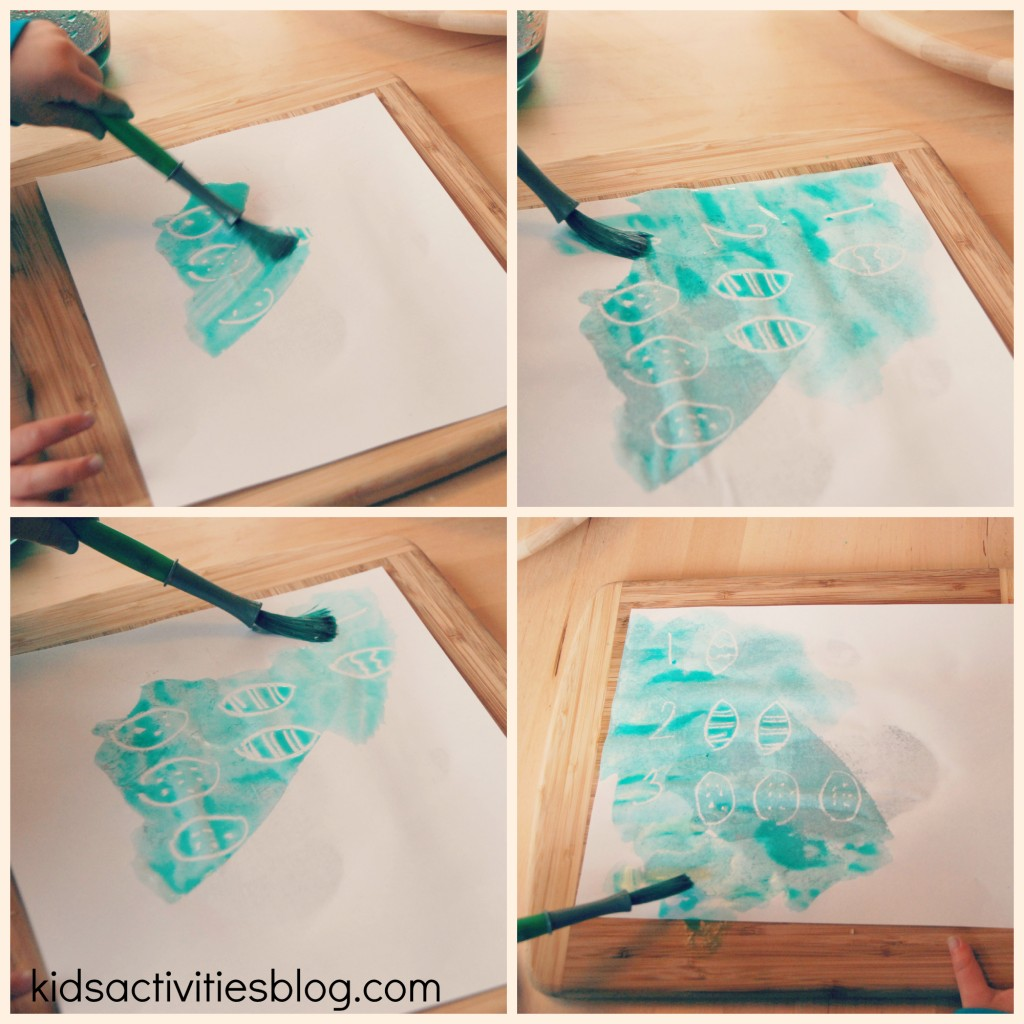 Crayon Resist makes Secret Art for Kids {use a white crayon!}