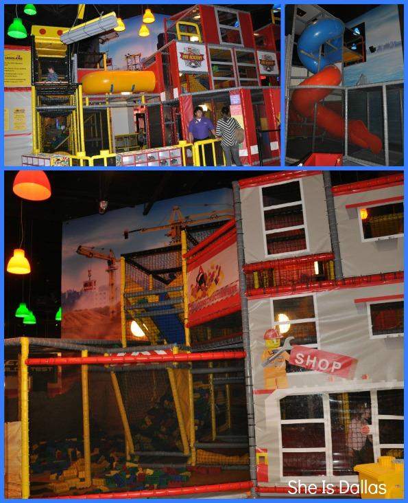 Legoland play area