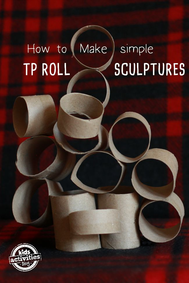 Toilet paper roll crafts for kids recycle