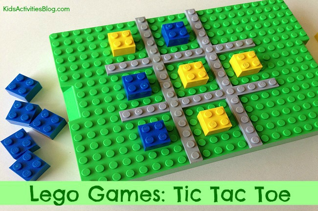 Make a LEGO Game: Tic Tac Toe for Kids