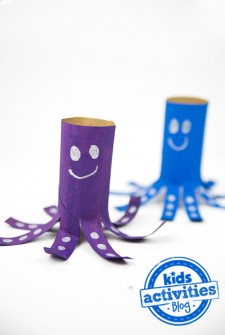 Toilet Paper Roll Octopus with Watermark