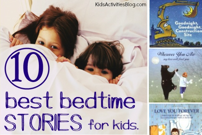 10 Best Bedtime Stories for Toddlers