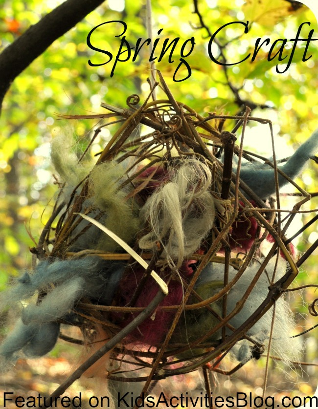 Spring Craft, Bird nest ball