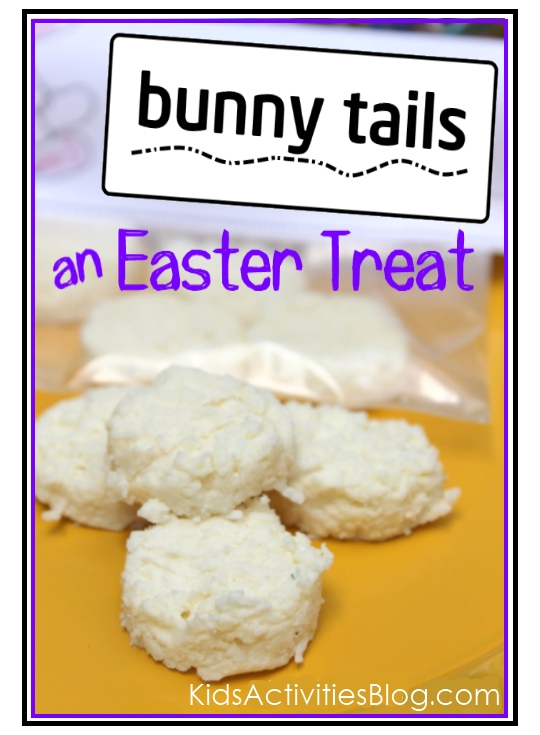 bunny treat - a silly snack your kids can make