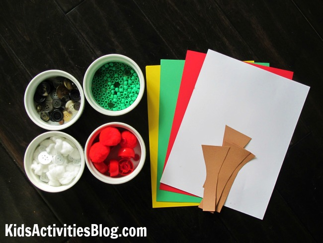 Craft idea for kids from The Season's of Arnold's Apple Tree by Gail Gibbons