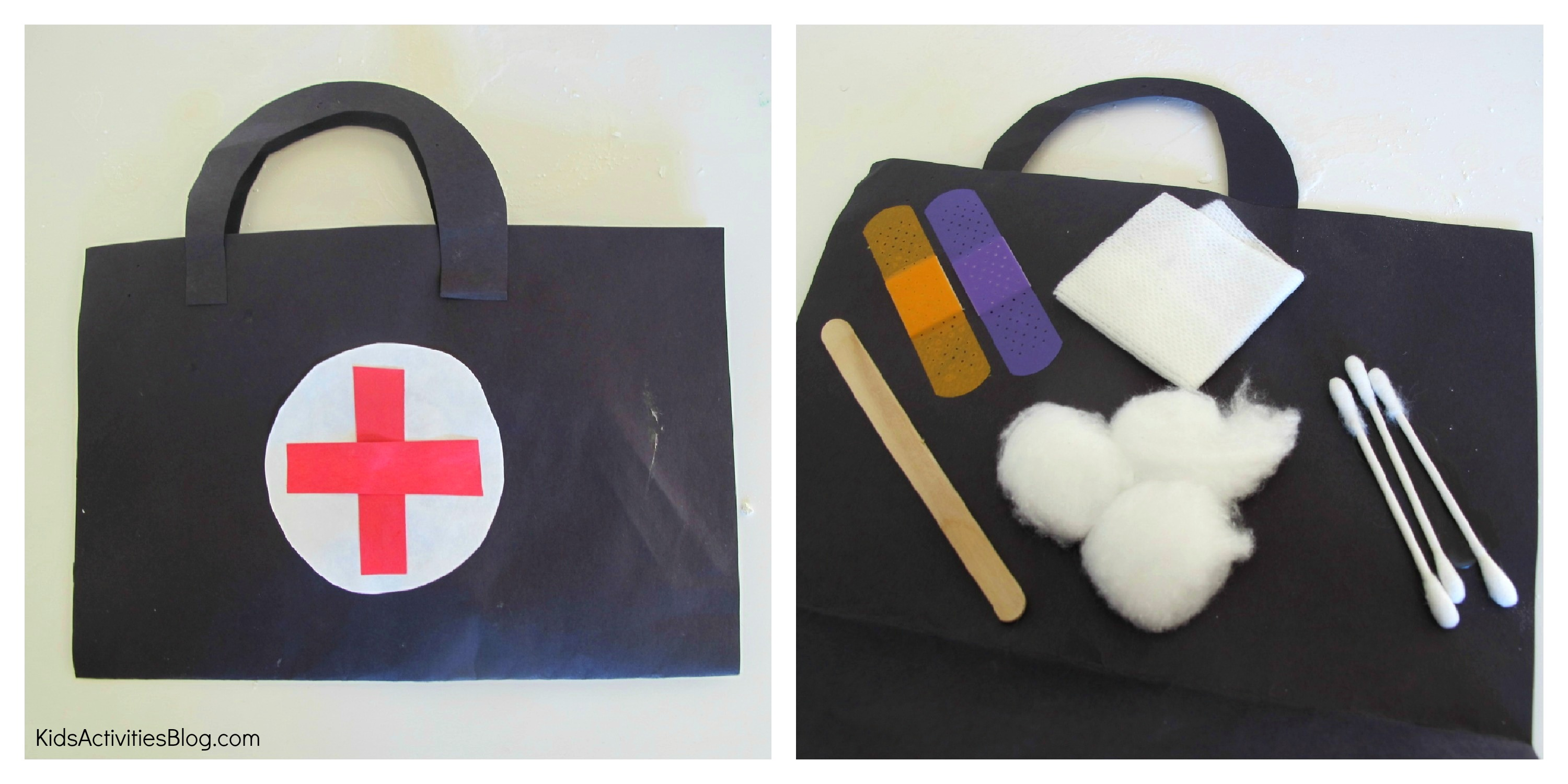 Doctorbagcraft for Doctor crafts for toddlers