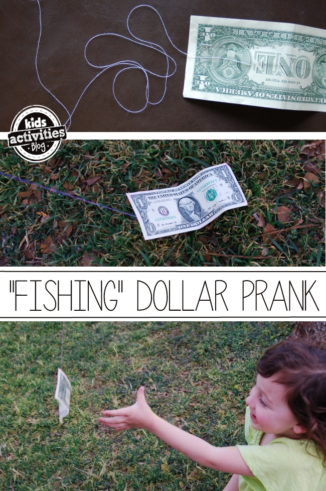 dollar prank feature