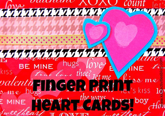 Express your love with this heart art project for kids