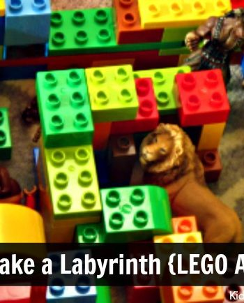 The Greek Labyrinth for Kids: How to make a labyrinth {LEGO Activities}