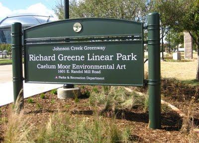 richard greene linear park