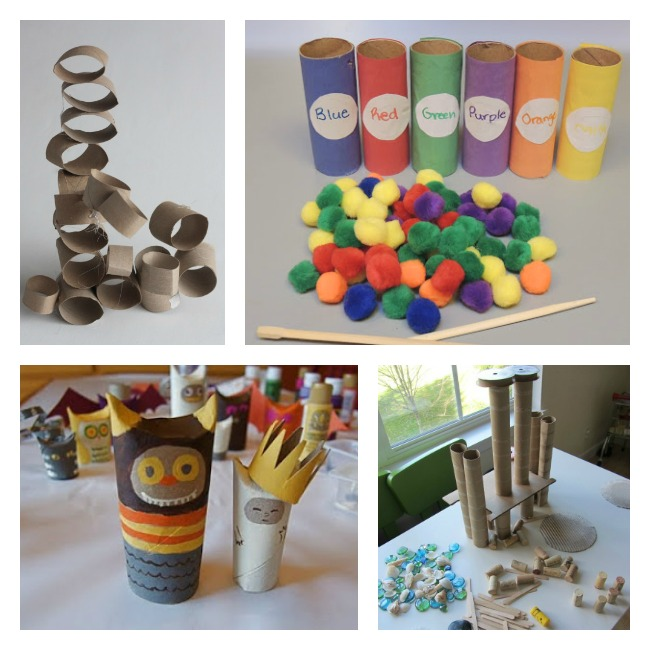 Recycle Toilet Paper Rolls Crafts