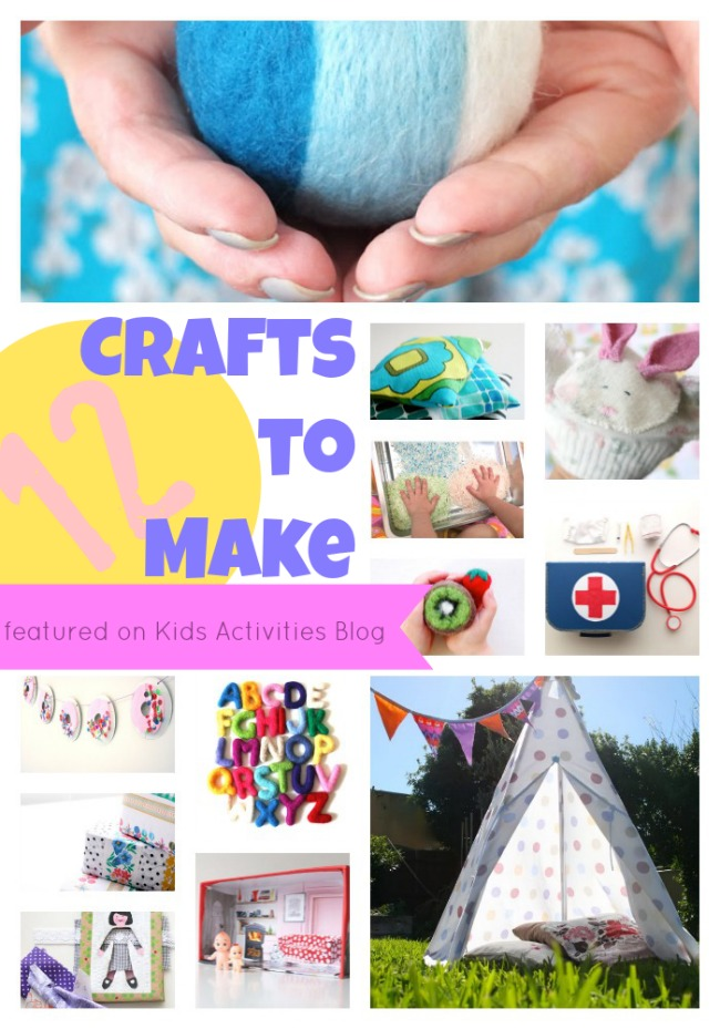 12 crafts to make at home