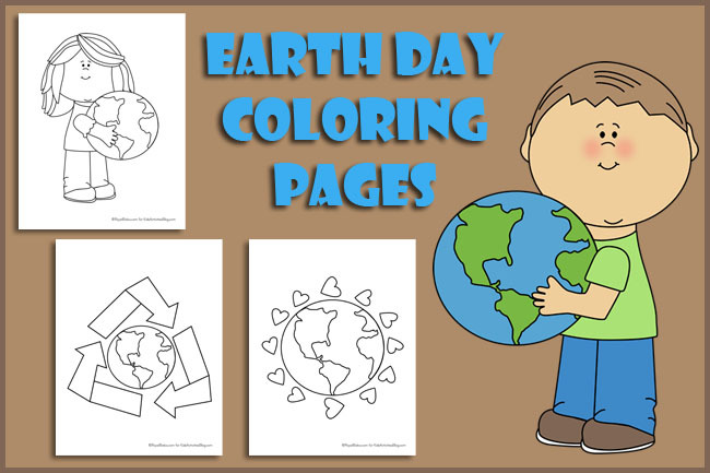 Earth Day: Coloring Pages for Kids {Free Printable!}