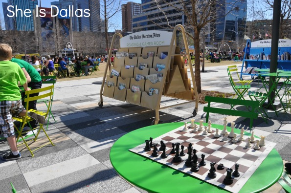 Game Chairs For Kids Top 10 Things to Do at Klyde Warren Park Dallas