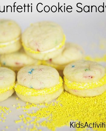 Fun Snack: {Funfetti} Cookie Sandwich