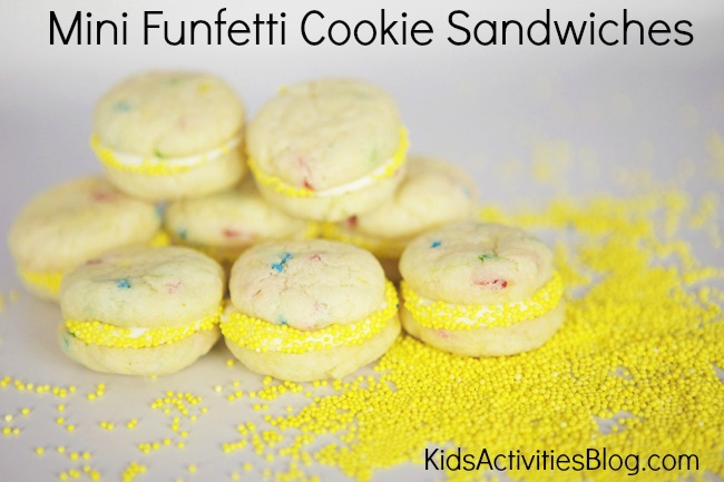 Fun Snack: {Funfetti} Cookie Sandwich