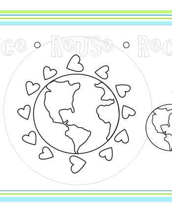 {Free Printable} Earth Day Place Mats