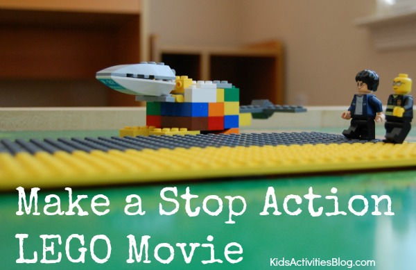 Easy Stop Action Video Idea {Movie Making with LEGOs}