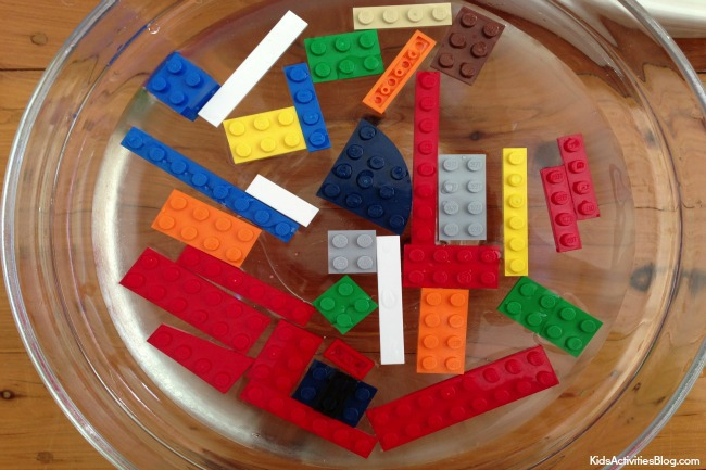 Surface tension with Lego