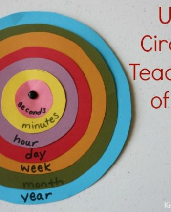 Tell Time: Learn Units of Time with Concentric Circles {printable}