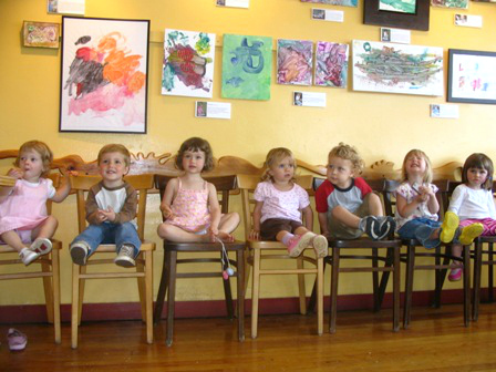 The Toddler Art Group