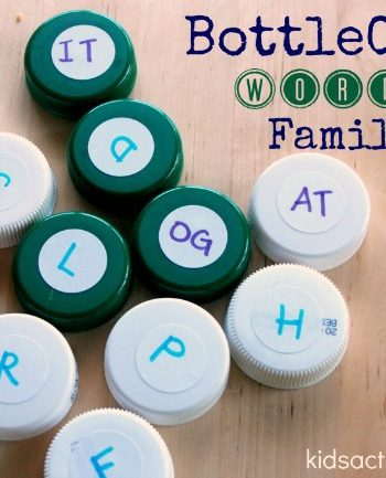 Word Family Early Reading Activities for Kids