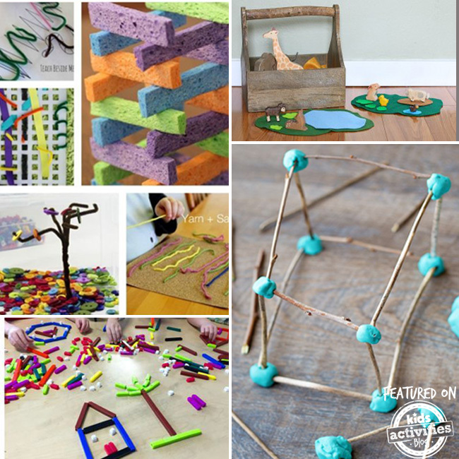Clever And Creative Ideas For The Ultimate Playroom: 15 Creative Play Ideas For Kids {and Moms!}