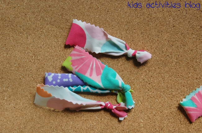 DIY Girly Things: How to make a hairband {upcycle kids swimsuits}