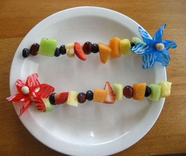Fruit Kabobs for Kids = Good Food! - Kids Activities Blog
