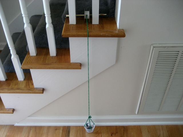 Science for Kids: Make a Pulley {Simple Machines}