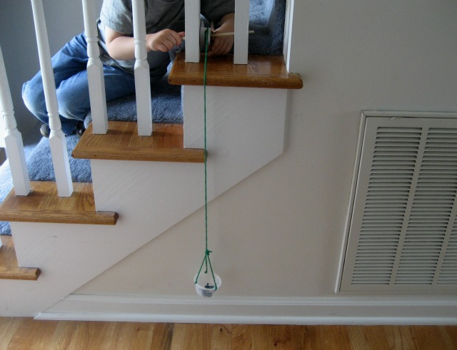 Simple Machines: Make a Pulley {Science for Kids}
