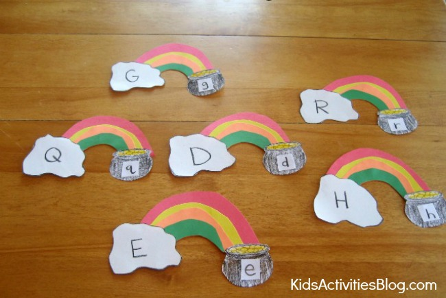 Reading Game for Kids: Letter Case Matching Game