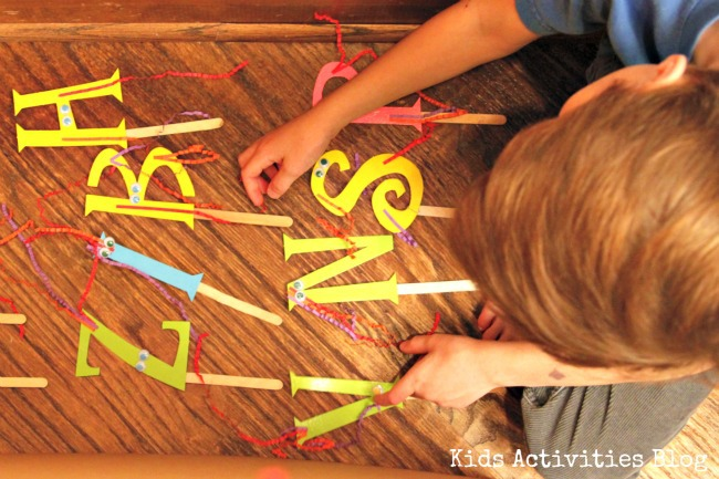 spelling and sight word practice