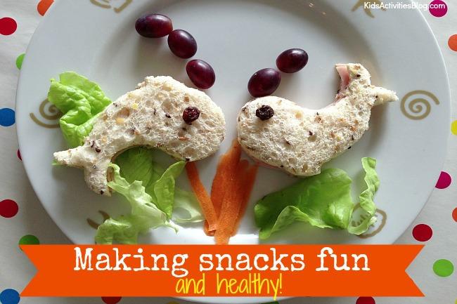 Fun Food: {Fun and Healthy} Snacks for Kids
