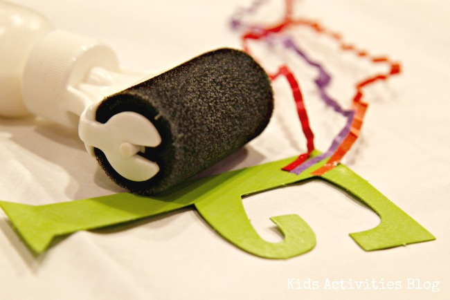 mod podge roller for washout for kids