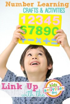 number learning crafts and activities
