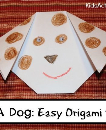 Make a Dog: Easy Origami {Art and Math}
