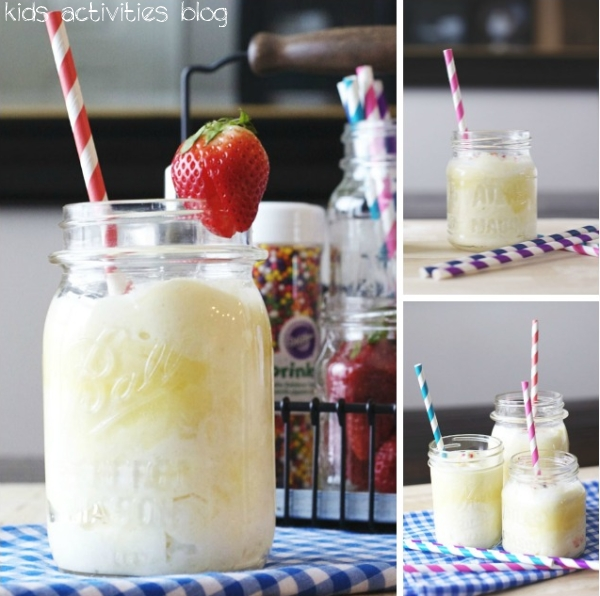Pineapple Whip - a fun {Disney Inspired} kids drink