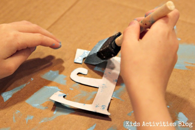 practice letter painting